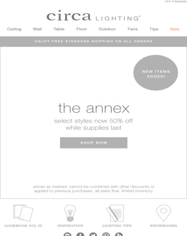 new items added! shop the annex online