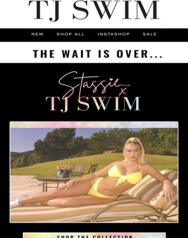 STASSIE x TJ SWIM ONLINE NOW!
