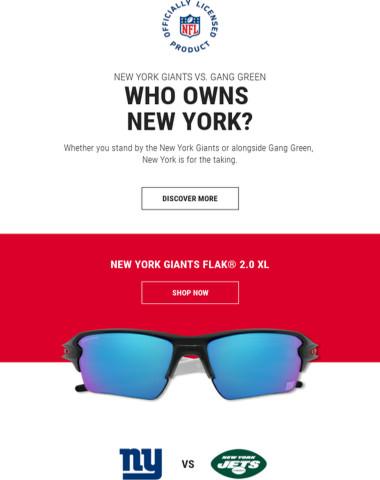 New York Giants Vs. Gang Green. Who Will Own New York?
