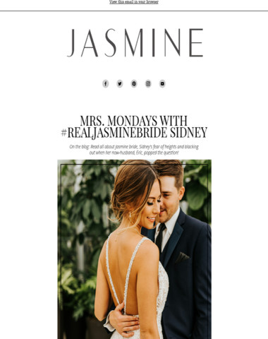 Get Featured on Our Jasmine Blog!