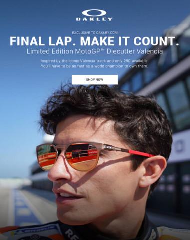 Final Lap, Final MotoGP™ Limited Edition. Own Them.