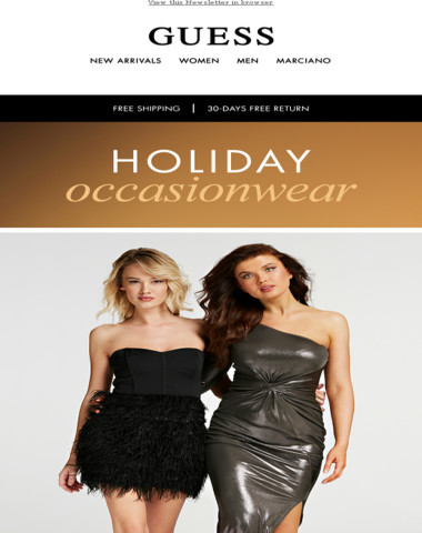 Check out our fabulous holiday outfits!