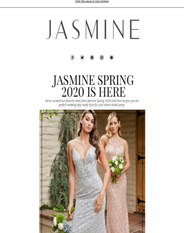 Jasmine Spring 2020 Full Collection Inside