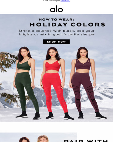 How To Wear The New Holiday Colors ?