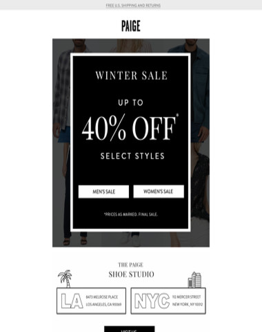 Up to 40% off Sale // Going On Now