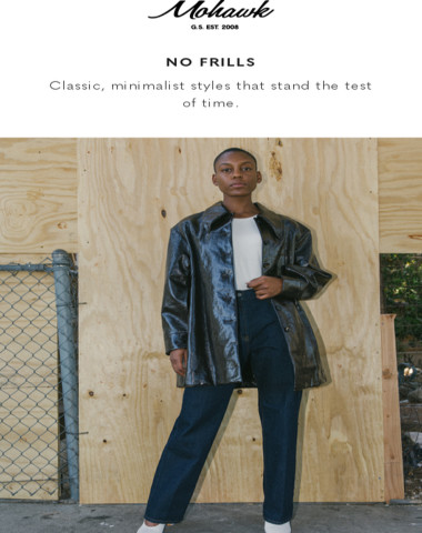 NO FRILLS | Classic, minimalist styles that stand the test of time