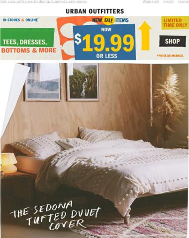 NEW | The Sedona Tufted Duvet Cover