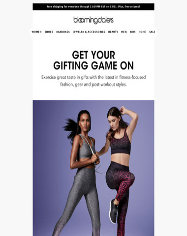 Note to self: Active & athleisure gifts we seriously want