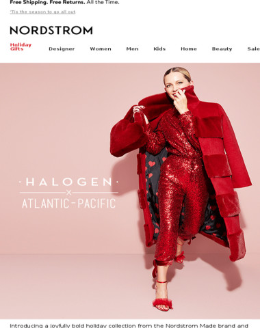 New holiday styles: Halogen x Atlantic-Pacific