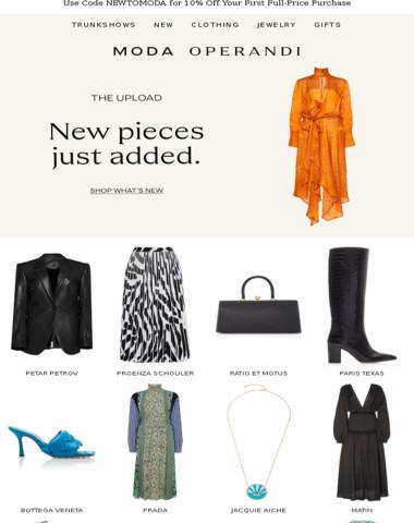 The Upload: new pieces from Bottega Veneta, Proenza Schouler & more