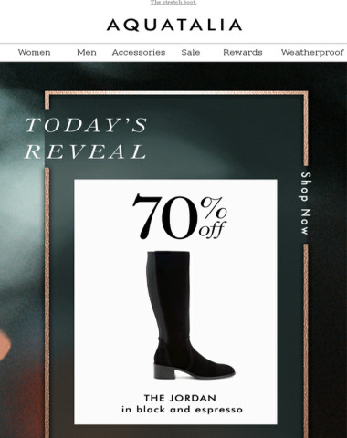 FINAL HOURS | 70% off today's style