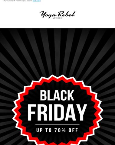 Black Friday Sale Is ON ?!