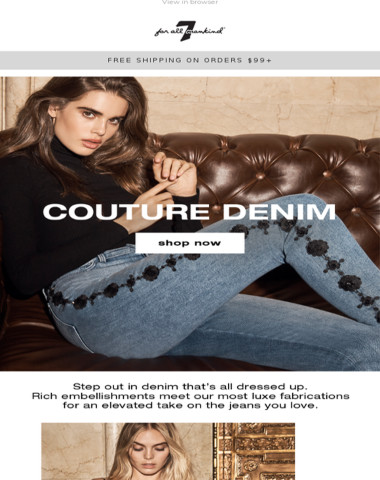 The Couture Denim Edit