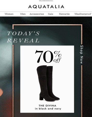 Oops...THE GREAT REVEAL | 70% off today's style