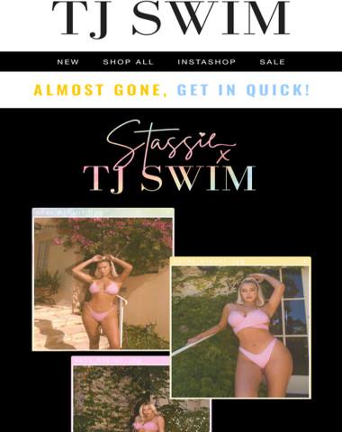 Selling Fast ⚡ Don't miss STASSIE x TJ SWIM!