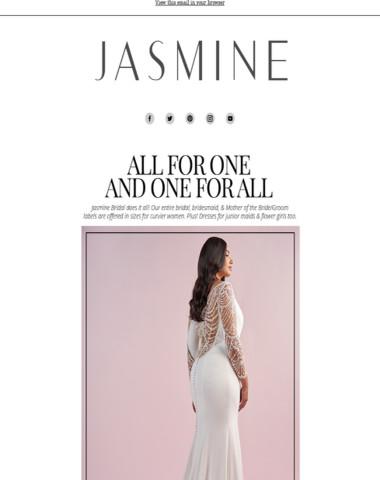 Plus Size Bridal, Junior Bridesmaids, and More!