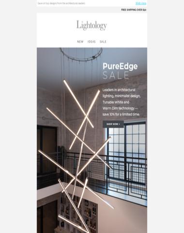 PureEdge Lighting S A L E