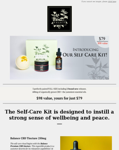 The CBD Self Care Kit is here!