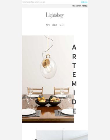 //Artemide Sale//