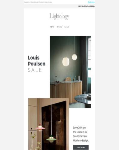 //Louis Poulsen Sale//