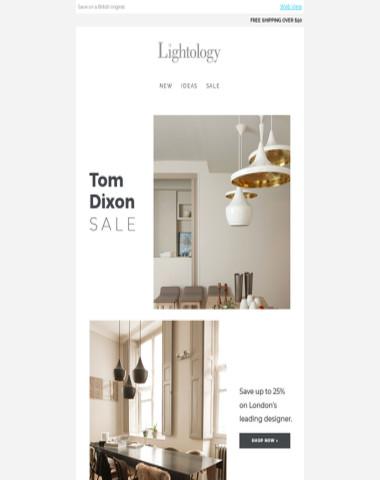 //Tom Dixon Sale//