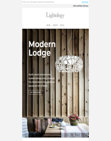 Get the Look: MODERN LODGE