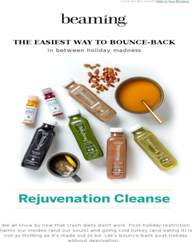 The new Rejuvenation Cleanse is here.
