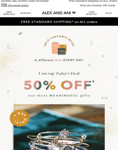 ?50% off our Most Meaningful Gifts ?