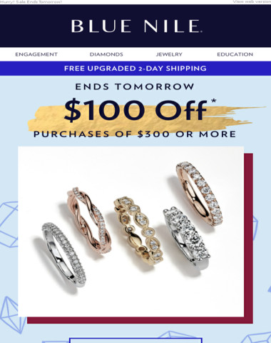 Our Gift: You're Getting $100 Off Rings, Earrings & More!