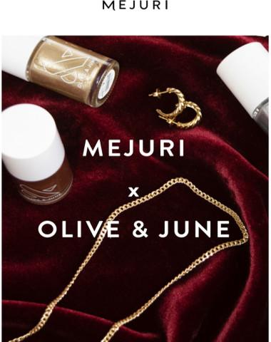 Mejuri x Olive & June