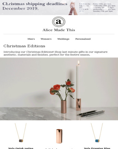 New in! Christmas Editions