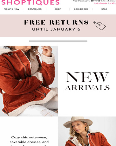 JUST IN: 150+ New Arrivals