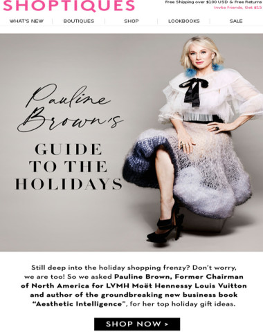 INTRODUCING: Pauline Brown's Guide to Gifting
