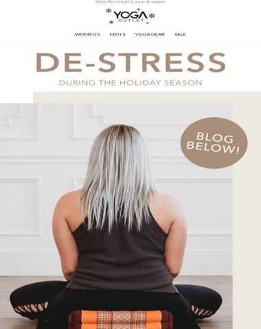 Stress Less & Relax More this Holiday Season ?