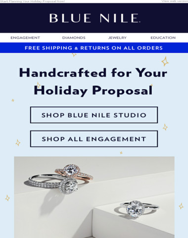 Handcrafted Engagement Rings For Your Holiday Proposal