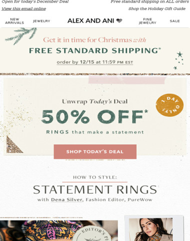 RING the alarm ?50% OFF* is HERE ?