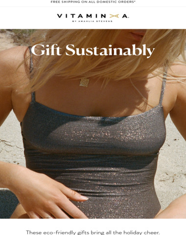 GIFT SUSTAINABLY