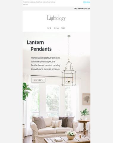 Lantern Pendants