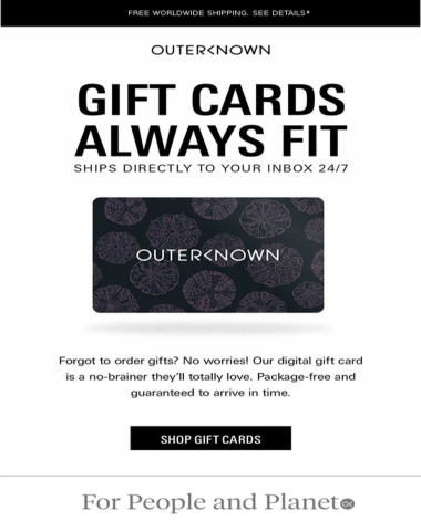 Forgot a gift? Gift card it!