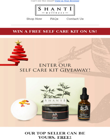 Don't Miss Out On Our Giveaway! ?