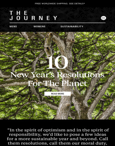 10 New Year's Resolutions for the Planet