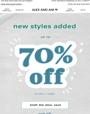 100+ Styles for $10 Starting NOW