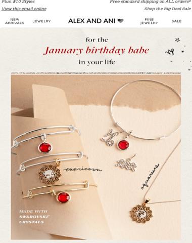 Treat your favorite January birthday babe