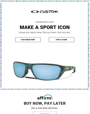 Make An Icon With Oakley Custom