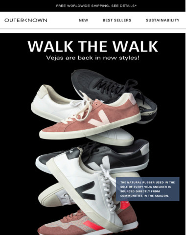 Walk the Walk — New Vejas Are Here!