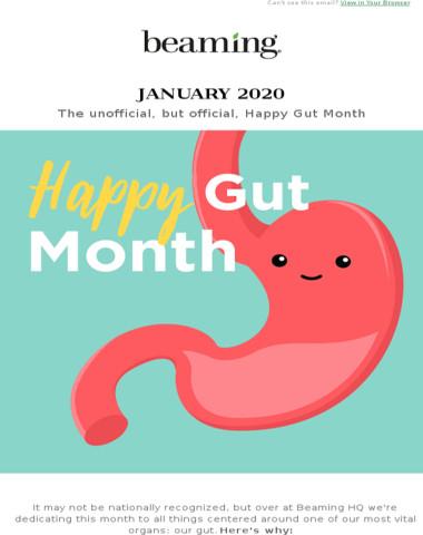 Happy Gut Month! Our Jan Sale is in Progress.
