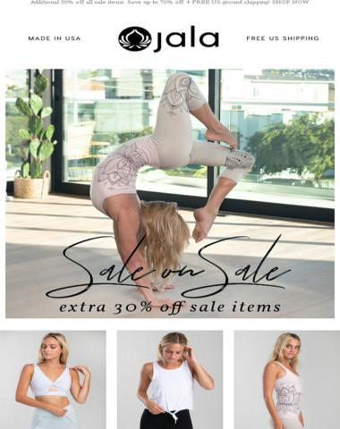 Extra 30% off Sale on Sale