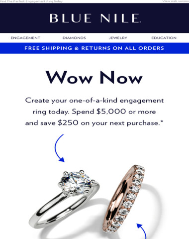 Exclusive Engagement Ring Offer: $250 OFF A Future Purchase