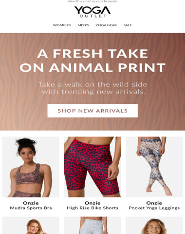 R A W R ? New Arrivals for the Animal in You