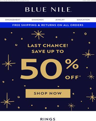 3 DAYS Only! 50% OFF Savings You Can't Miss!